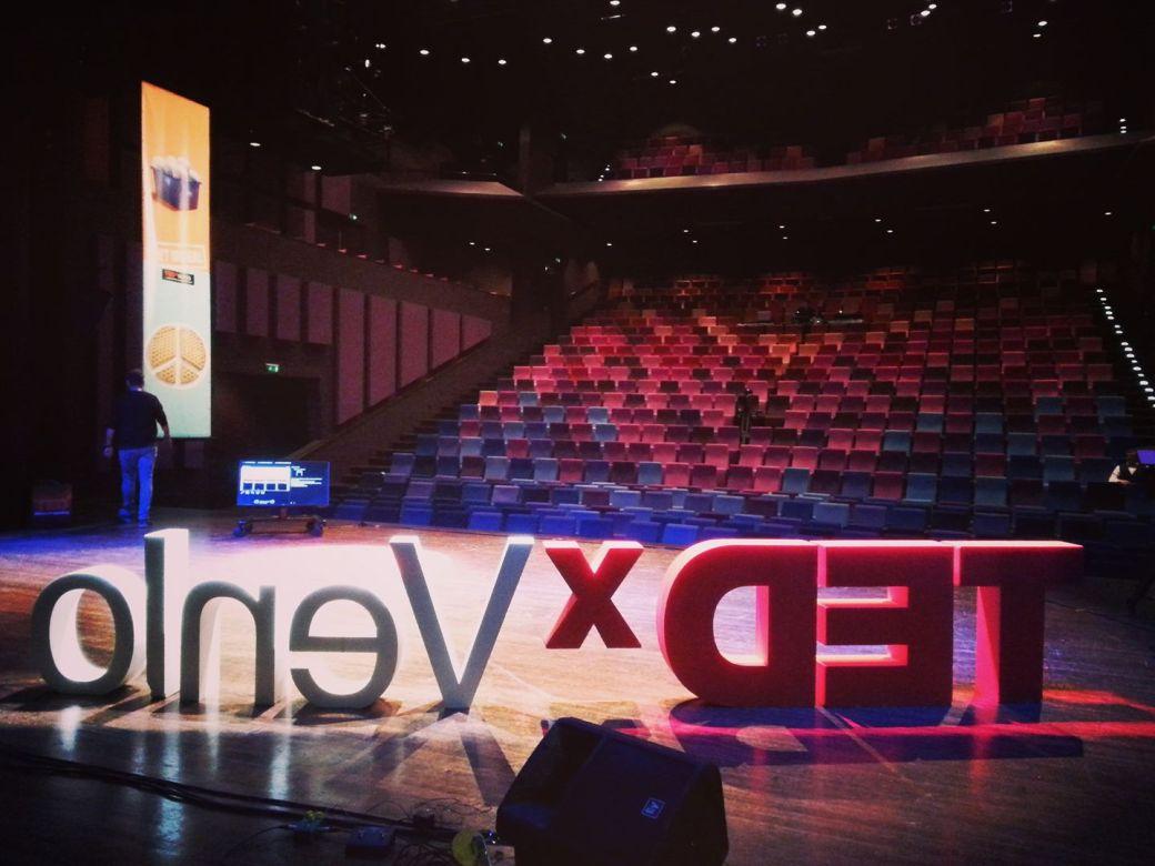 TedX backstage met Babs van Bree